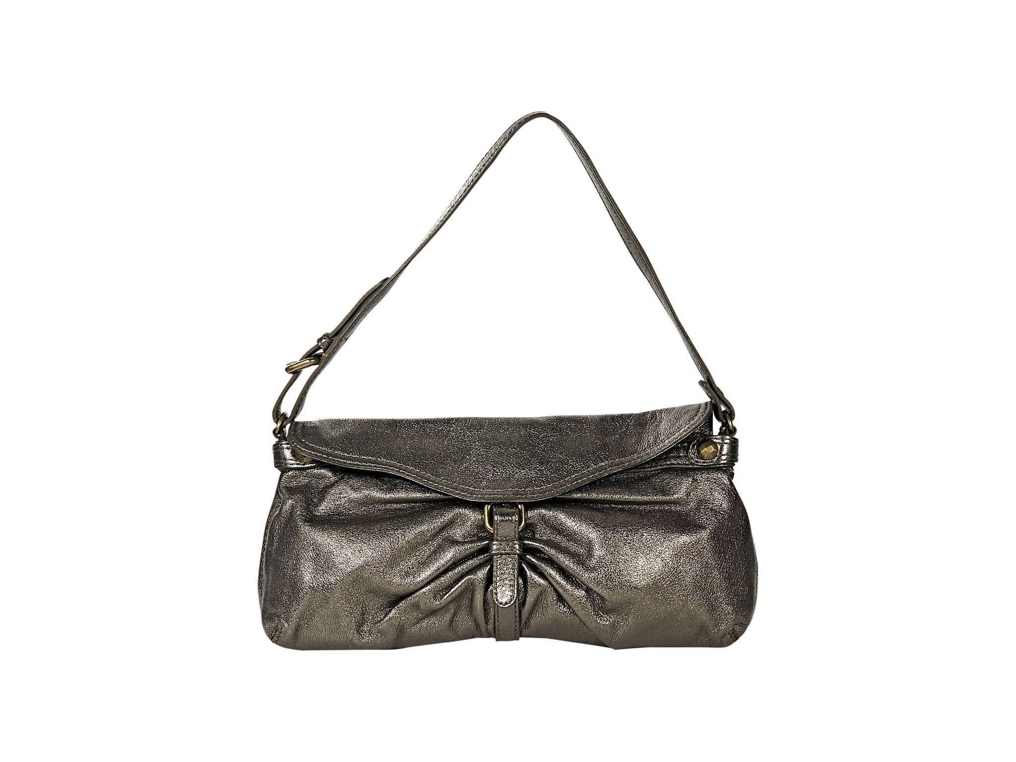 Bronze Kooba Leather Shoulder Bag