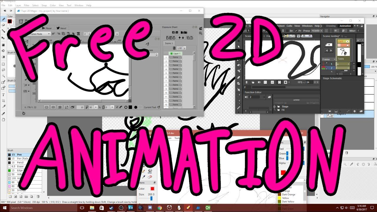 2d Animation Software Free Download
