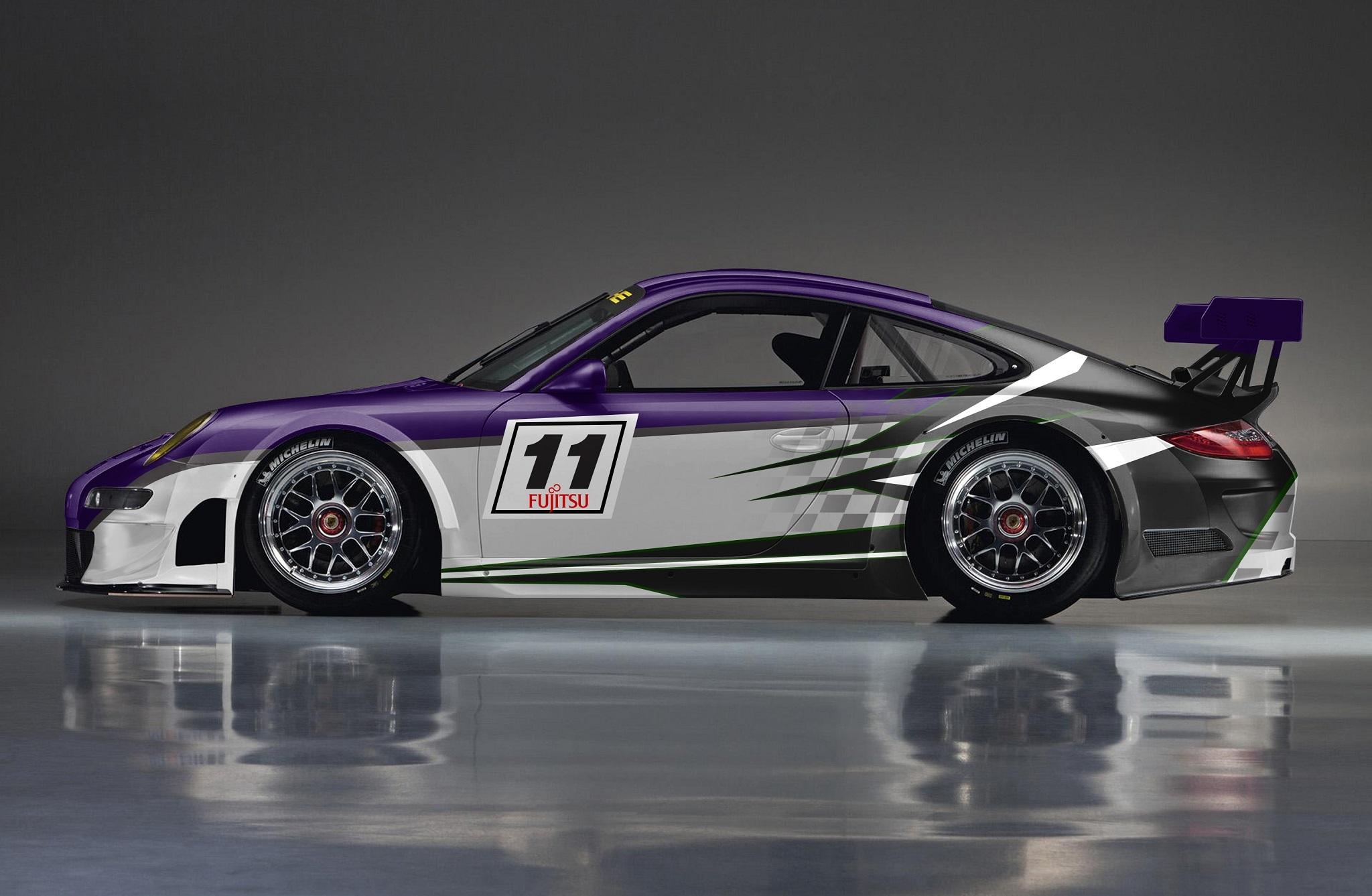 Design rennauto (racing car) Porsche Cup (991) | Vehicle ...