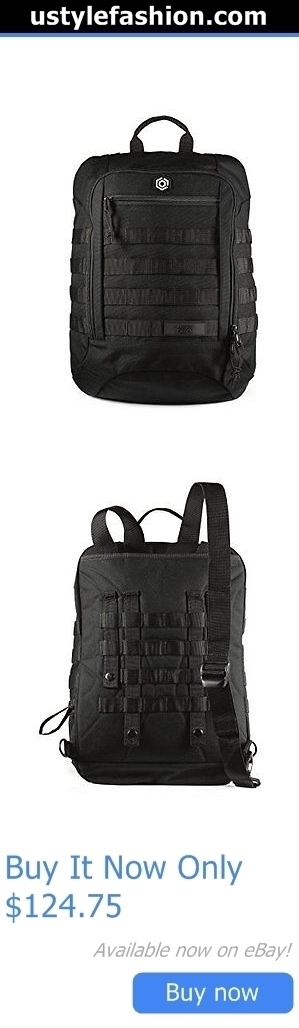 ba4db461ad6 Baby Carriers and Slings and Backpacks  Mission Critical - Mens Carrier  Daypack - Made For Dads - Black BUY IT NOW ONLY   124.75 ...