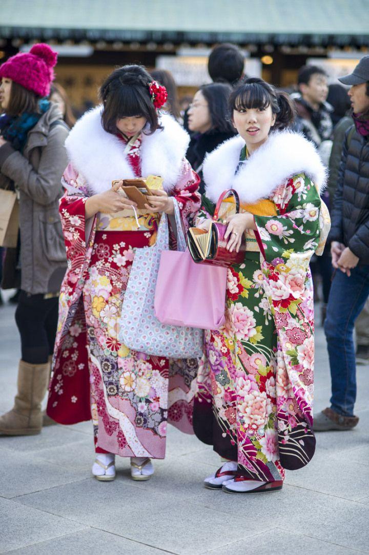 seijinshiki_meijijingu_9778 Festa de 20 anos, maioridade, comemorada em todo o Pais na passagem do ano.