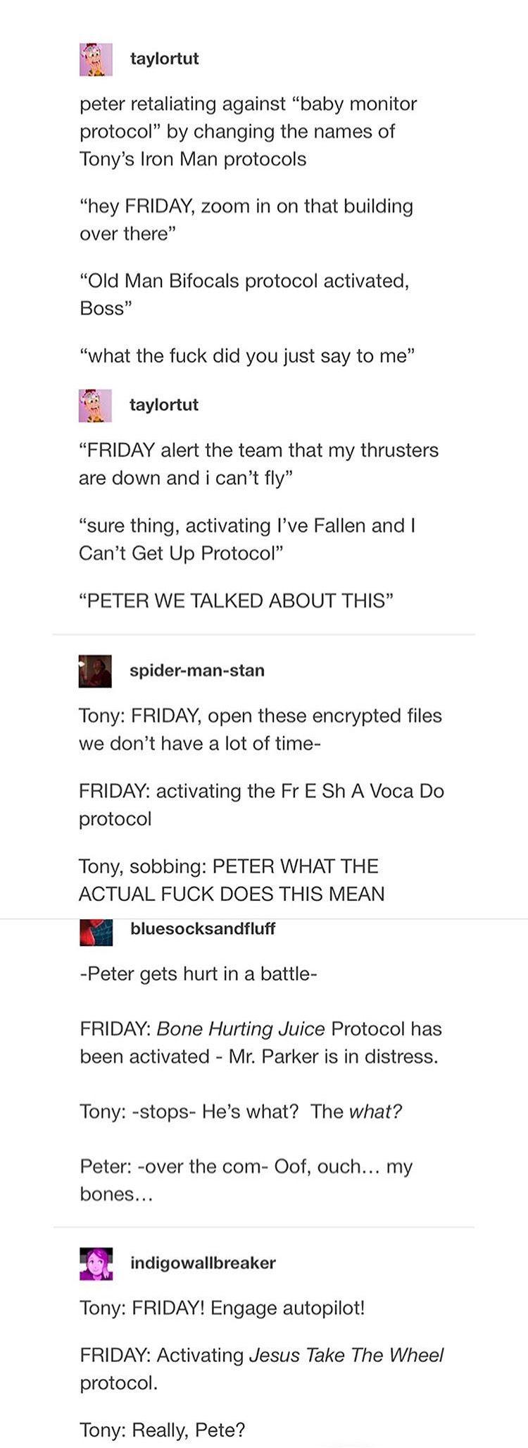 Hahahahahahahahahahahahaha The Last One And The Third One Tho