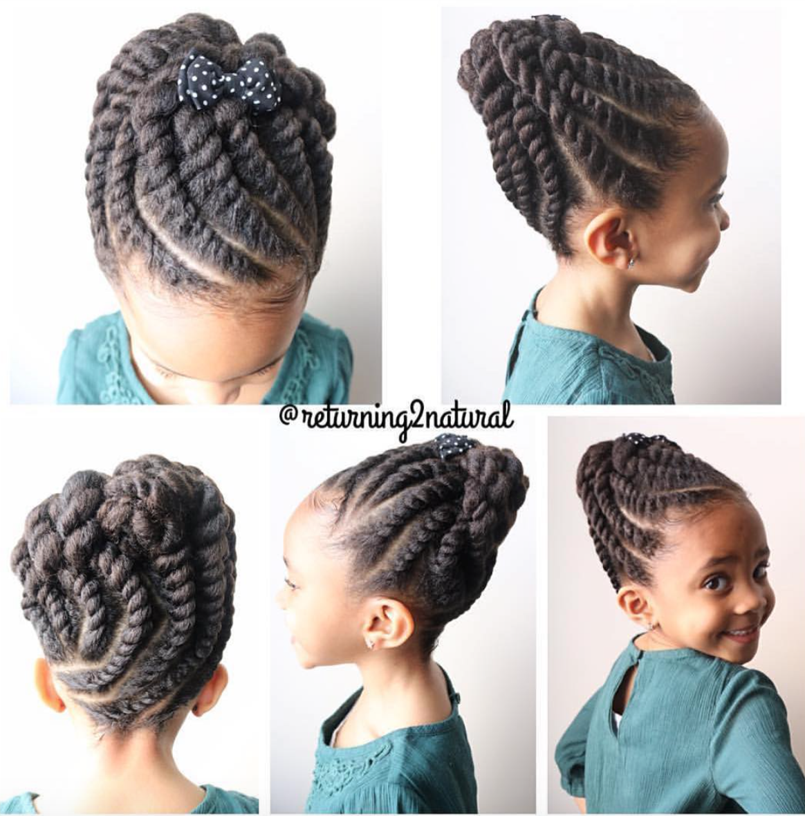 Pin by talaia on all things hair pinterest kid hairstyles