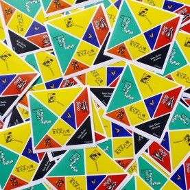 Walls360 Tangrams for Teachers: Walter Bracken STEAM Academy in Las Vegas
