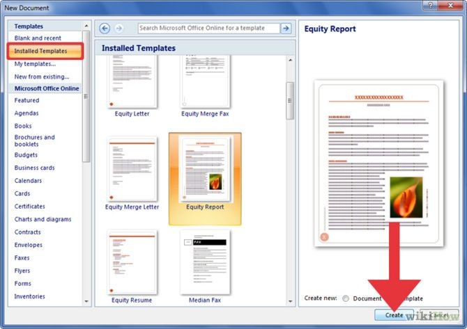 How To Create A Template In Microsoft Word 2007 Microsoft Word 2007 Word 2007 Microsoft Word Templates
