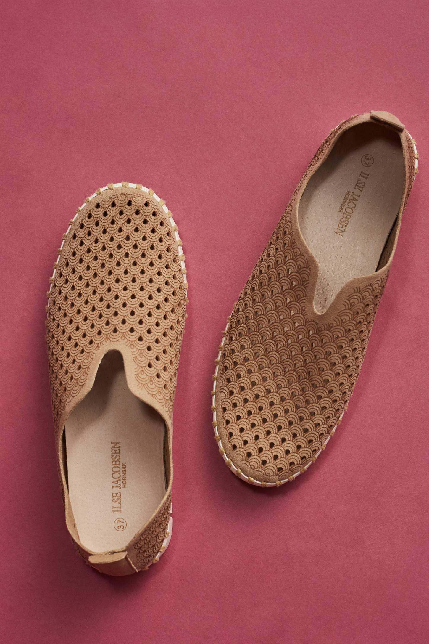 e0dd8728 Slide View: 5: Ilse Jacobsen Tulip Perforated Sneakers Sandalias Planas,  Anthropologie, Tulipanes