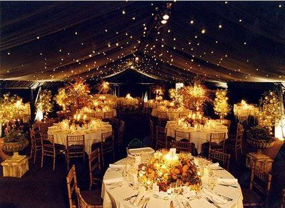 Oh Starry Night Our Love Is Written In The Stars Great Tent Idea For An Outdoor Wedding Reception