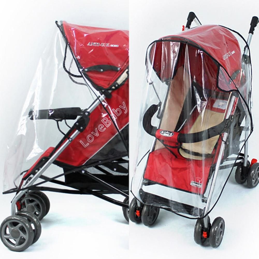 Chic Stroller Rain Cover Universal Pram Baby Infant Double Pushchair Wind