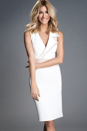 Tek Yaka Pudra Biyeli Ekru Elbise Mlwss156630 Elbise Moda Stilleri The Dress
