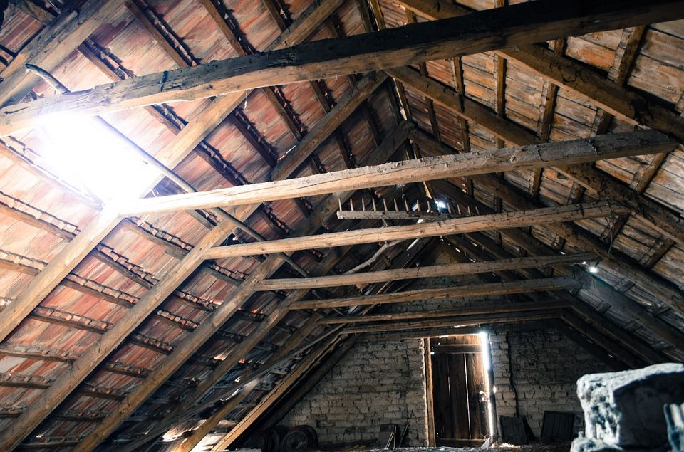 Pin By Susan Brink On Old Barn Attic Renovation Attic Playroom Attic Insulation