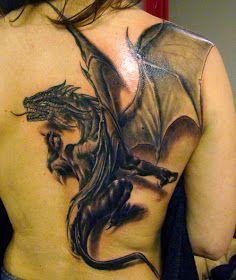 Tattoo De Dragon Tatuaje De Dragon En La Espalda Tatuaje De Dragon Tatuajes Dragones Tatuajes De Arte Corporal