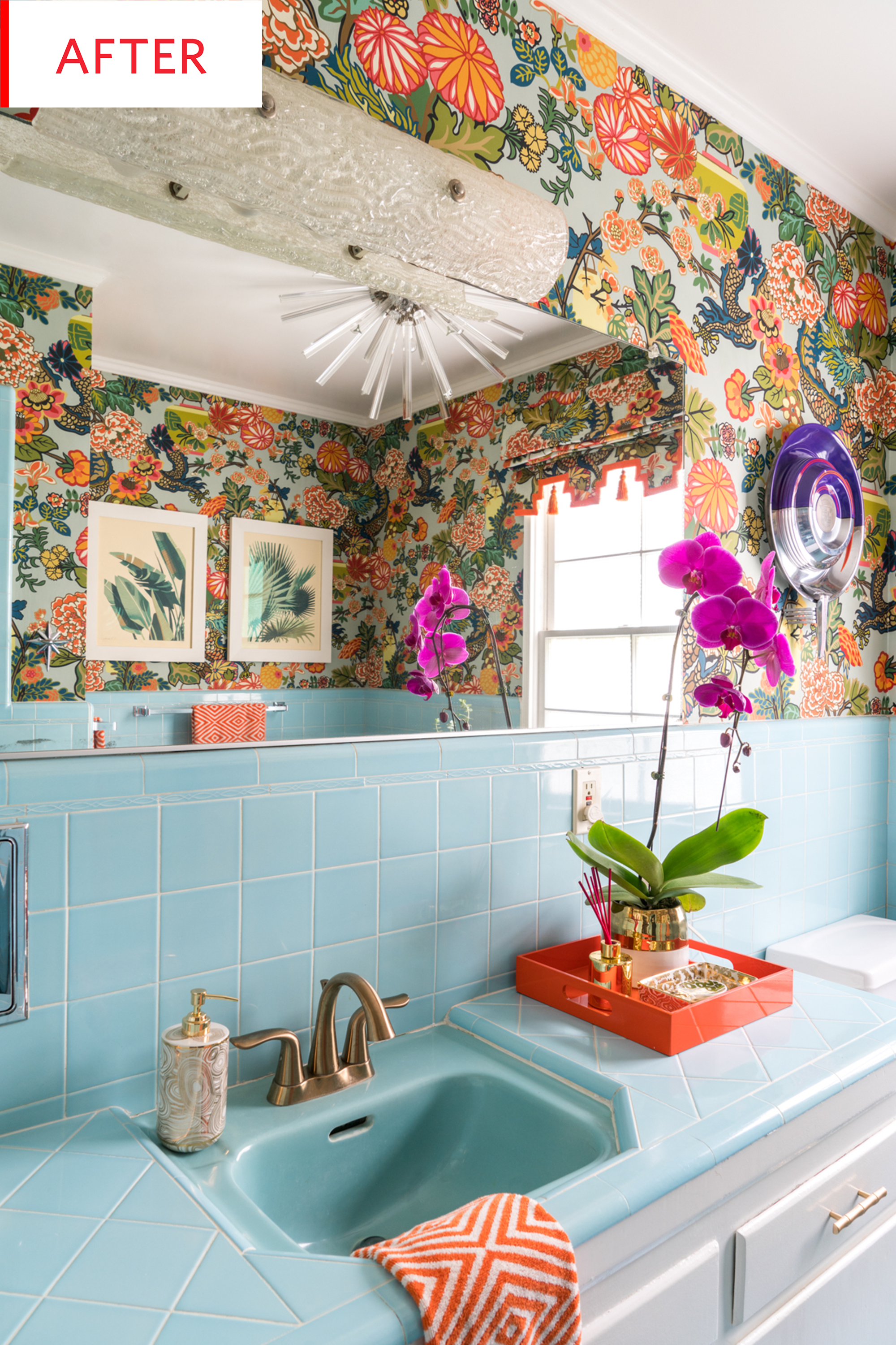 Before And After This Bathroom Keeps Its Original Beautiful