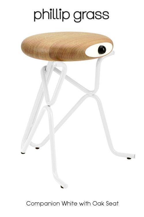 Philip Grass Companion Stool With Oak Seat Nielsen House Shop - Companion stools phillip grass