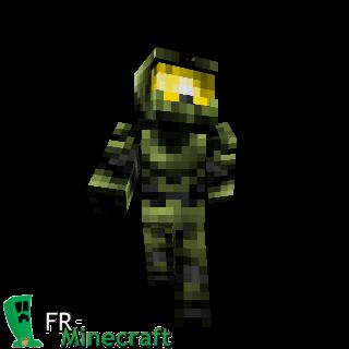 Minecraft Skin Minecraft Master Chief Halo Minecraft - Skins para minecraft pe halo