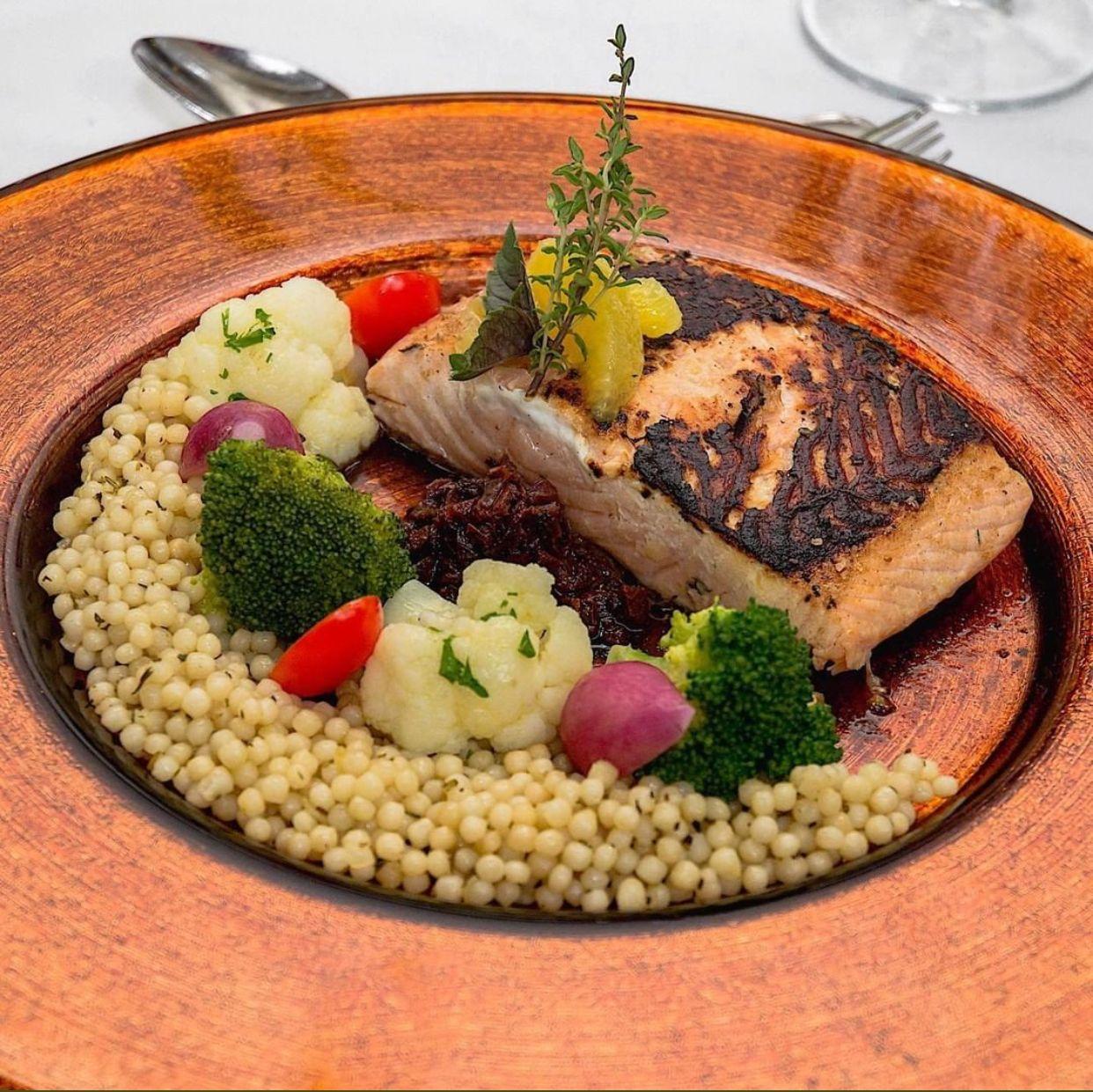 Citrus Marinated Salmon Food Trends Jamaican Restaurant Cuisine