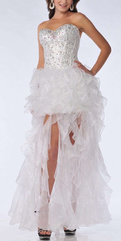 White crazy prom dresses my styles pinterest prom dress