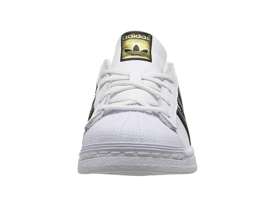 timeless design a5096 70d58 adidas Superstar C Foundation (Little Kid) Originals Kids Shoes White Black