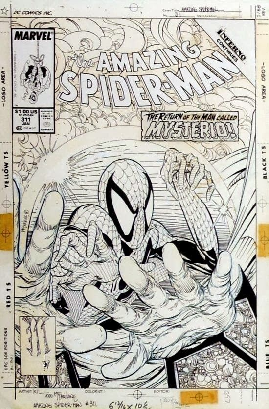 Amazing Spider-Man #311 (1989) - Cover by Todd McFarlane