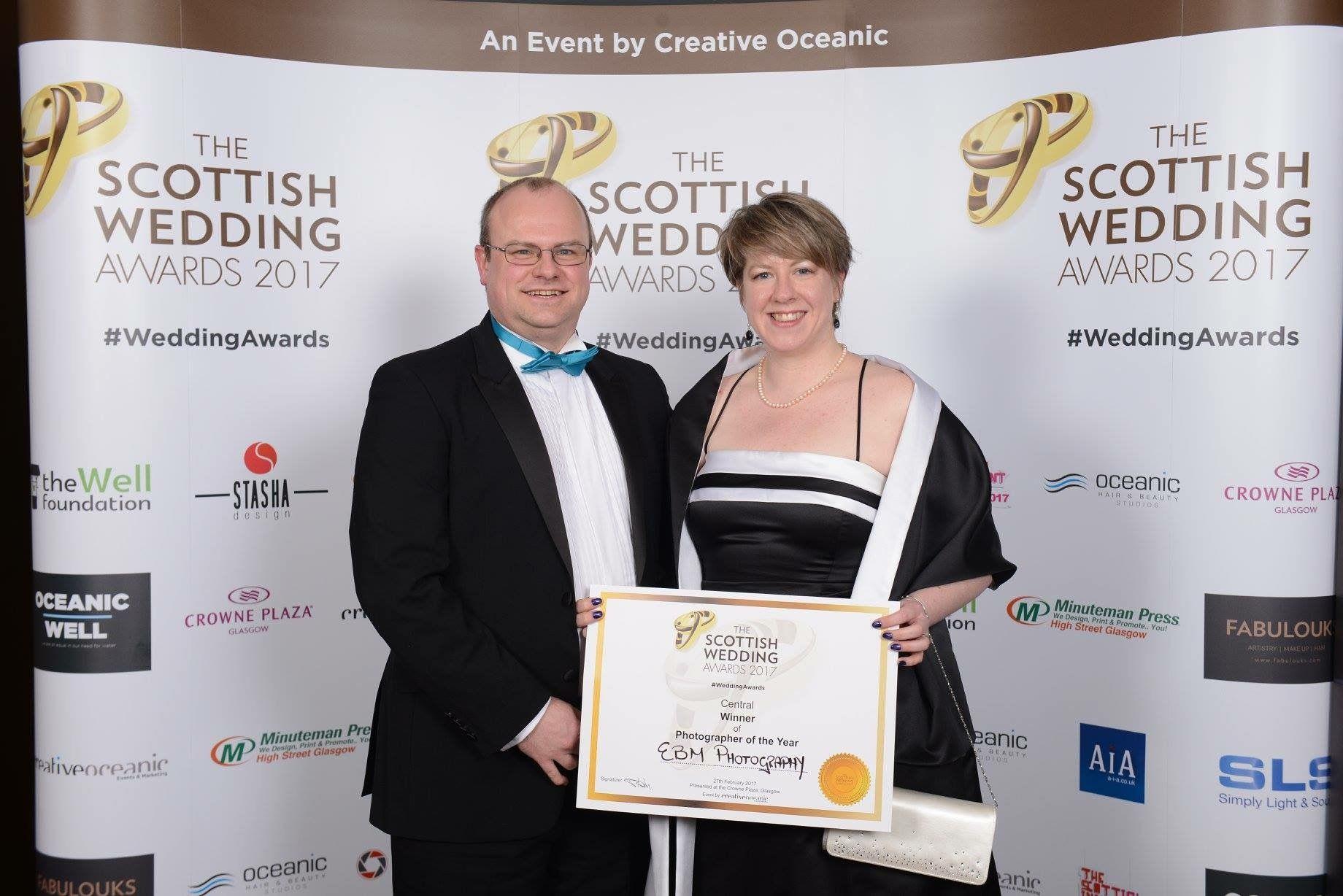 Scottish Wedding Awards Central Scotland Photographer Of The Year 2017