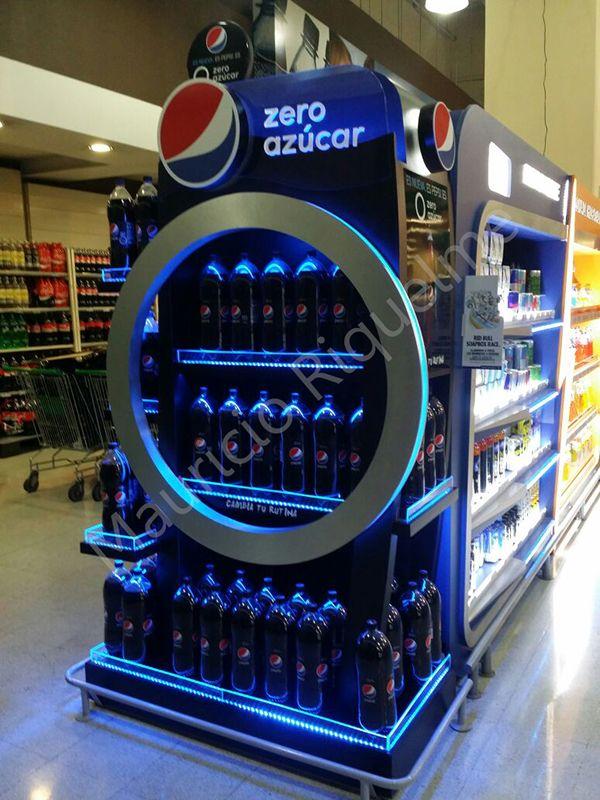 Coca Cola Gifts >> PEPSI zero, diseño, fabricacion externa | Pop display, Pop design, Showcase display
