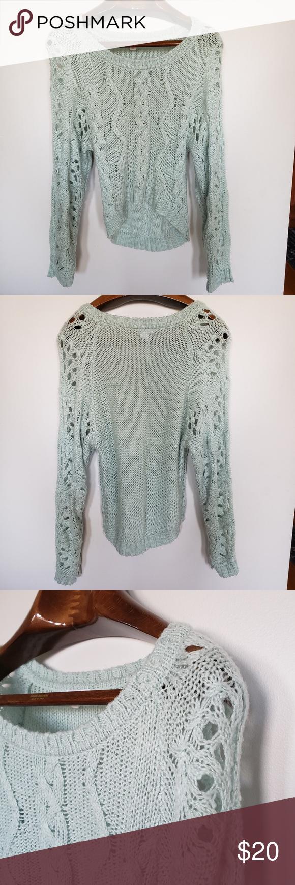❤ (3/$20) Xhilaration // crochet mint green • S i z e R e f e r e n c e • -Model: 5″2 • D e t a i l s • -Condition: Great! ⚜ Pre-l…