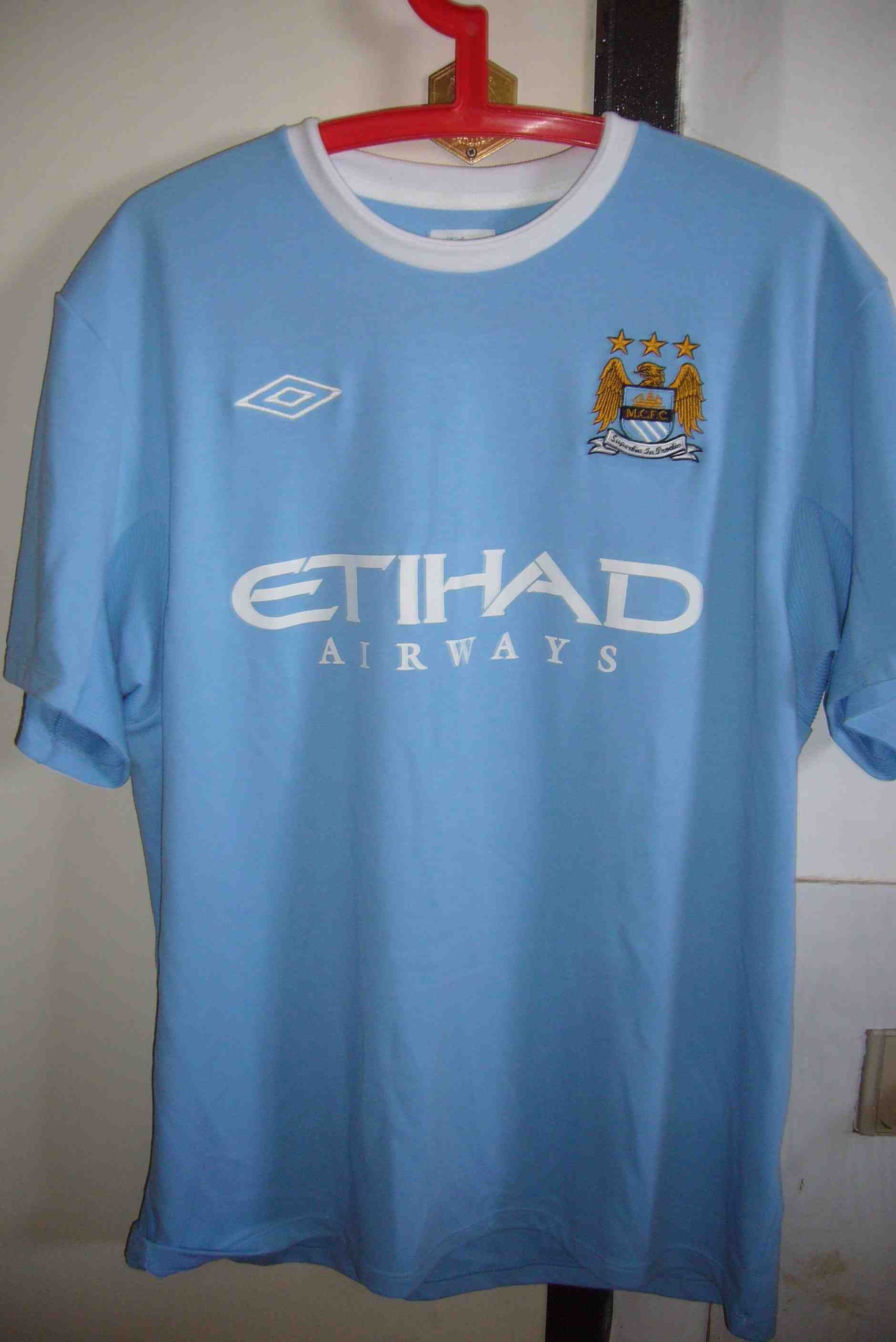 new arrival 5654e 79dd2 Manchester City South Africa Tour (Mee)   Others match worn ...