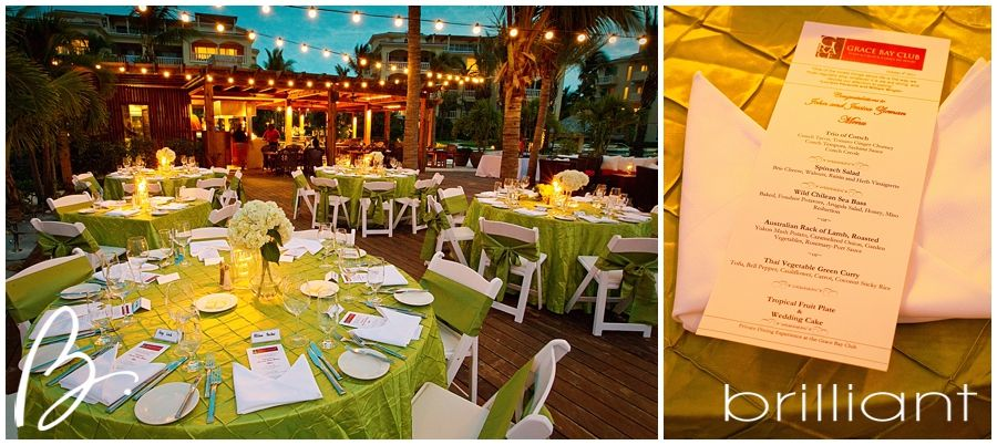 Grace Bay Club - green linens