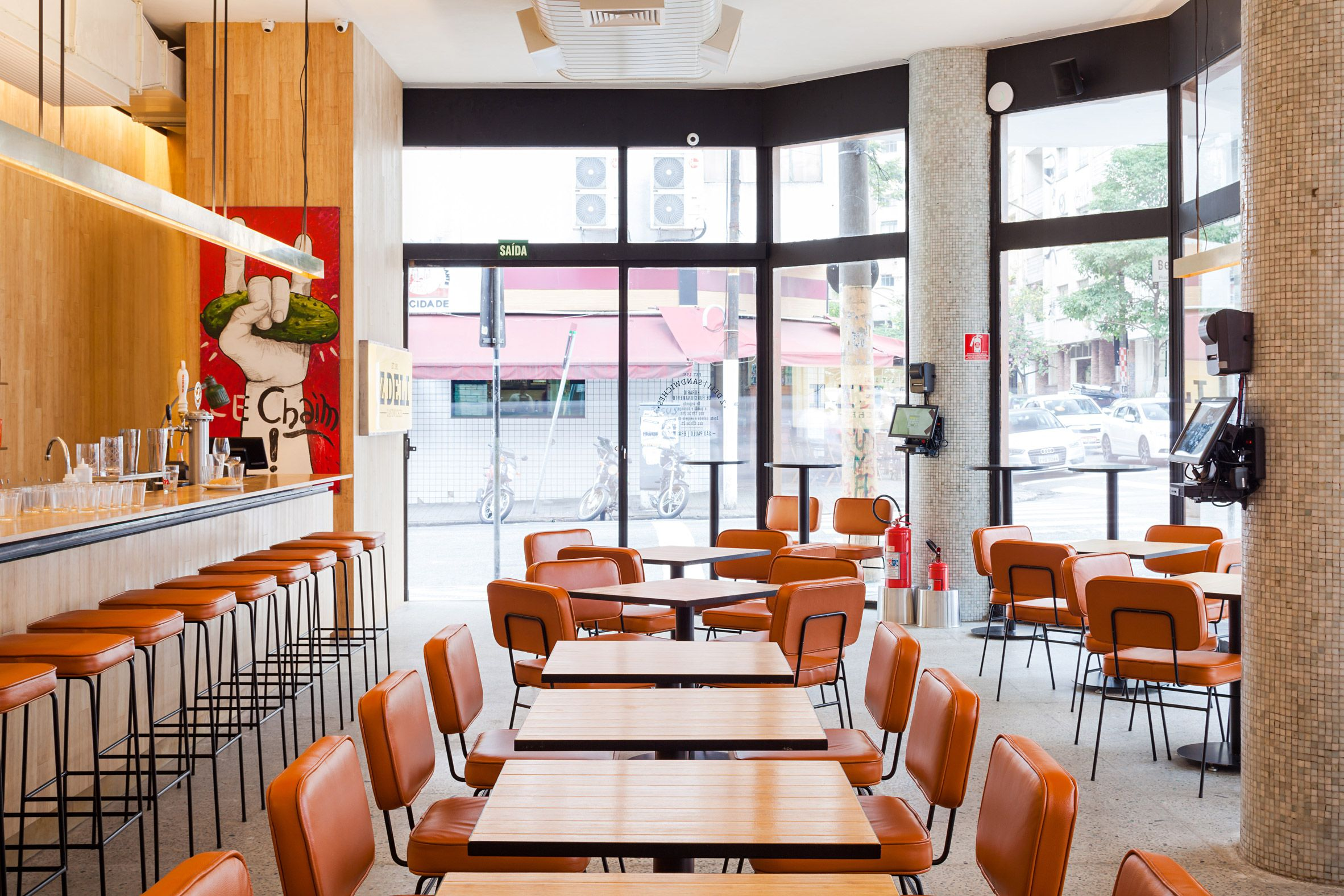Architects Guilherme Pianca And Gabriel Kogan Toured São Paulo S Quaint Restaurants Dating Back To The 1950s Find References For A Sandwich In