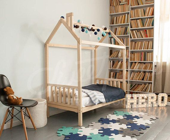 Kids Teepee Children Bed House Or Toddler House Bed Frame