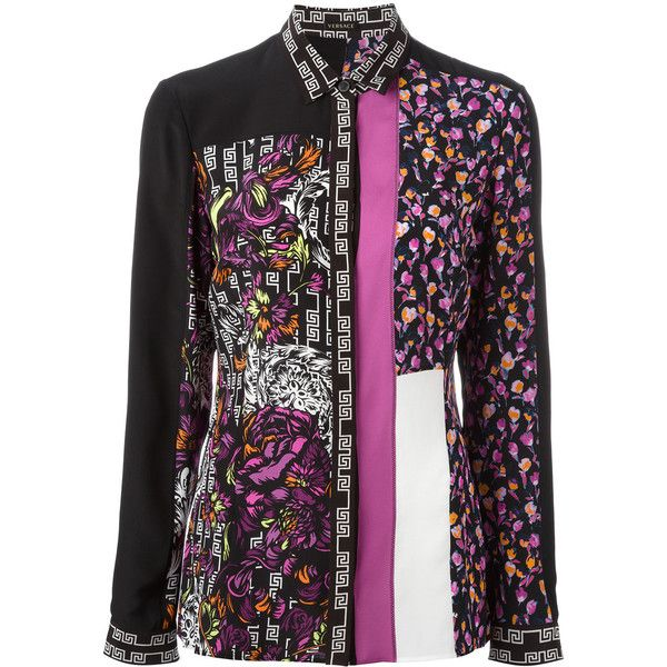 ed7a57a489c Versace Patterned Shirt ( 1