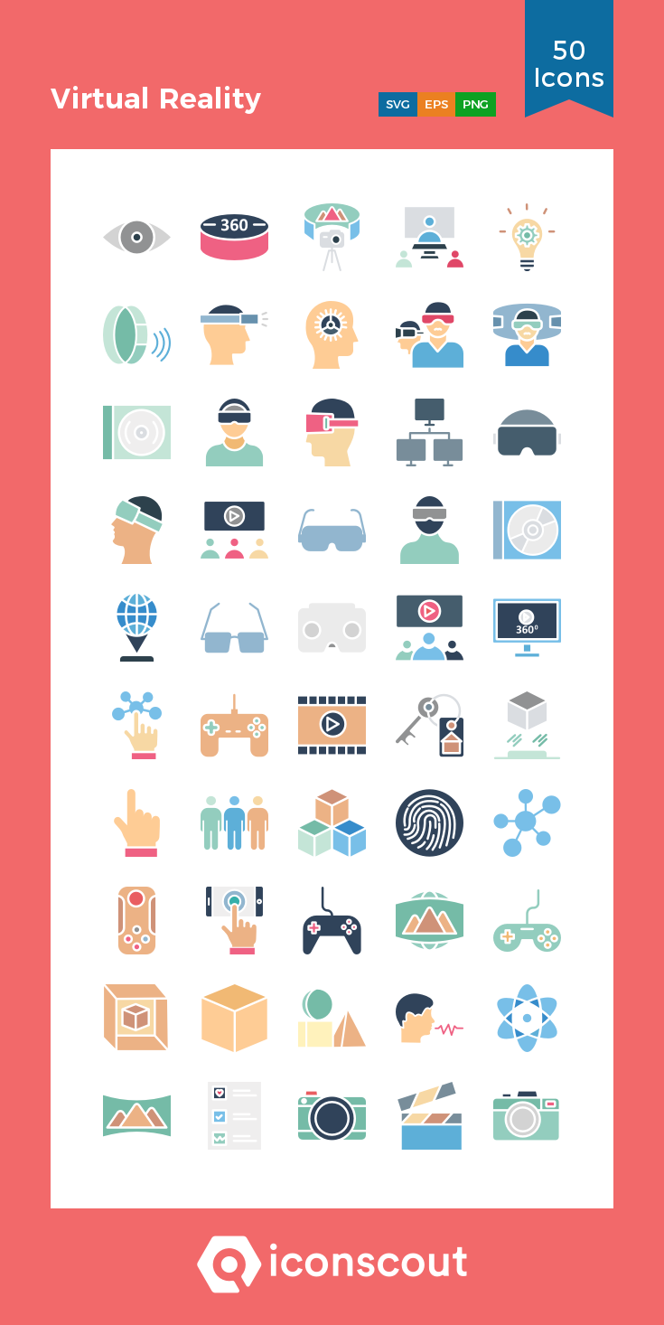 Download Virtual Reality Icon pack Available in SVG, PNG