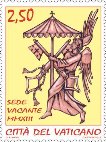 Sede Vancante: http://d-b-z.de/web/2013/03/01/briefmarken-papst-sedisvakanz/