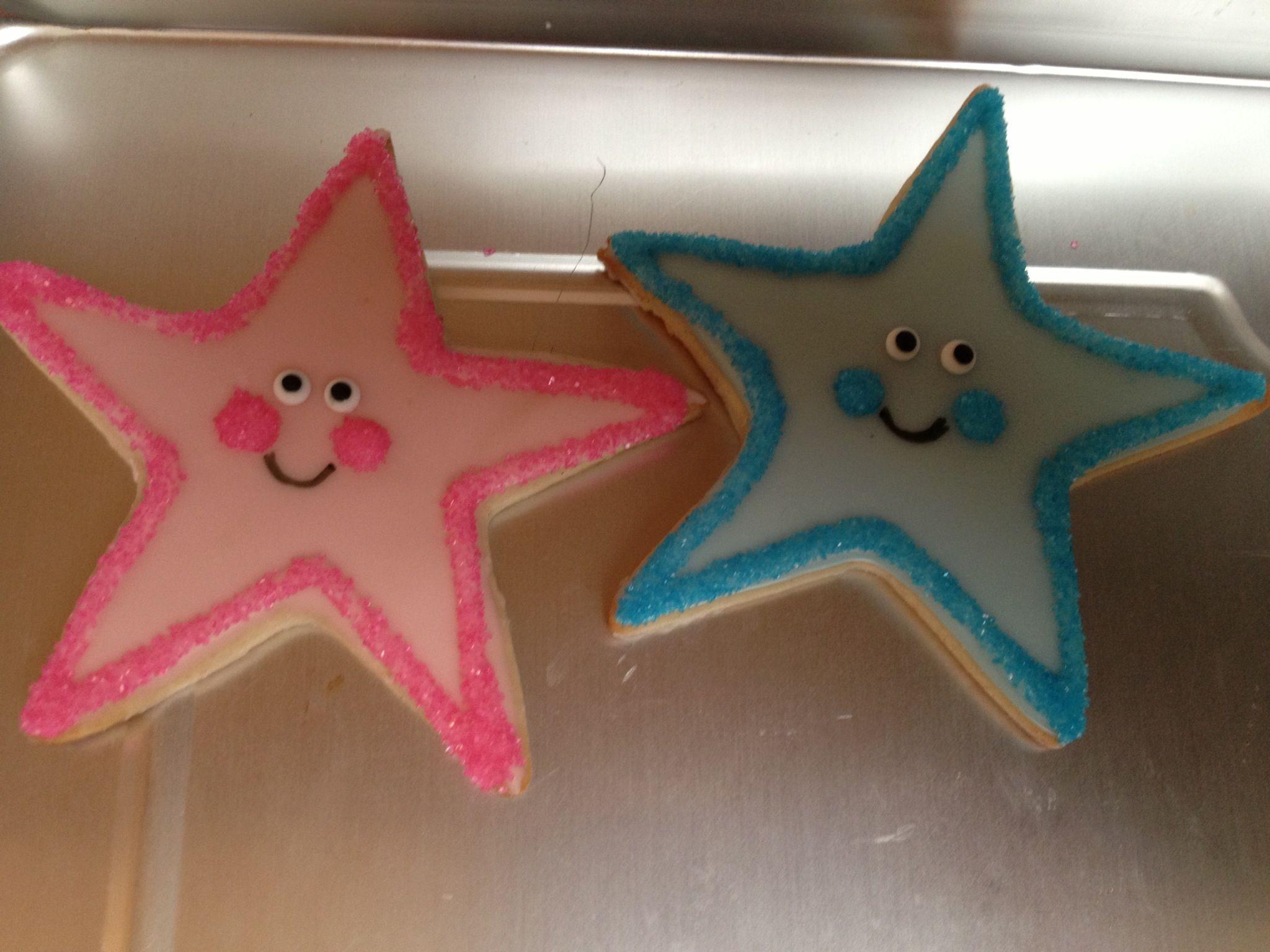Twinkle twinkle little star sugar cookies!