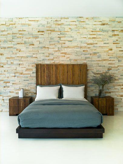 stone wall as art