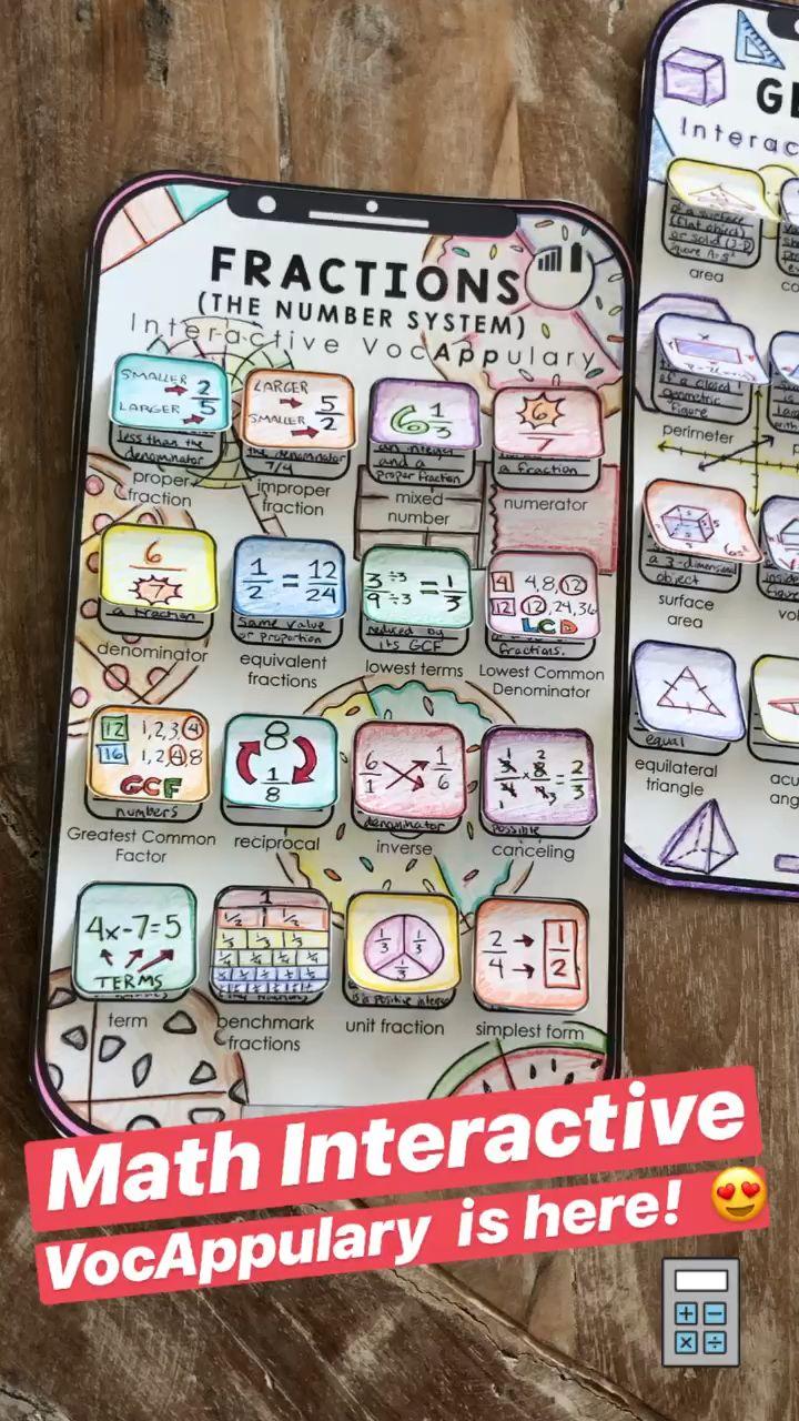Photo of Math Vocabulary – Bundle