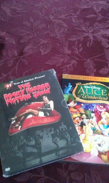 Rocky horror picture show and Alice In Wonderland