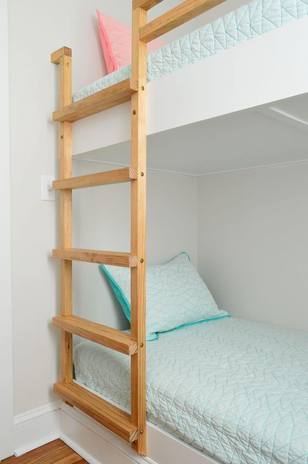 How To Make Diy Built In Bunk Beds Young House Love Bunk Beds