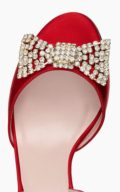 lovely heels with a jeweled bow http://rstyle.me/n/wjzhspdpe