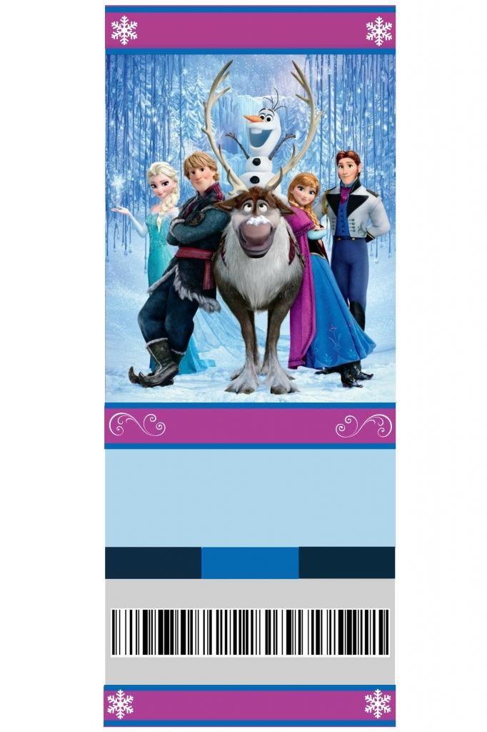 Free Printable Frozen Invitation Elsa And Anna Photo This Photo Was