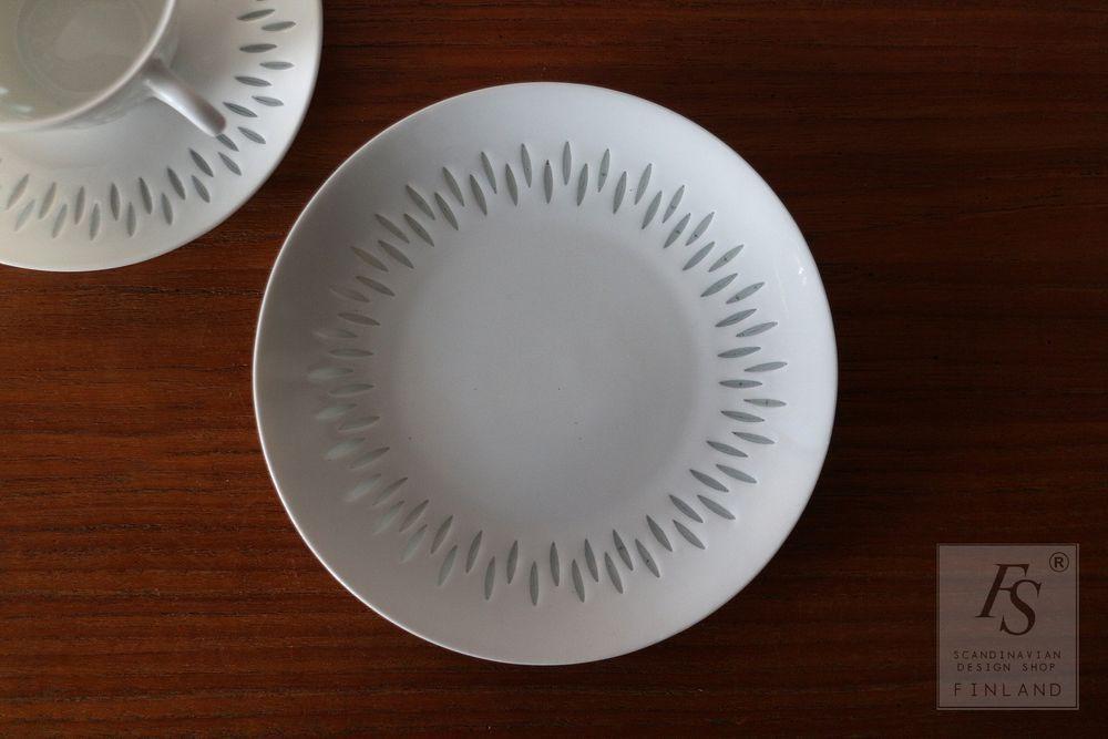 Arabia Rice Porcelain Plate 15 5 Cm
