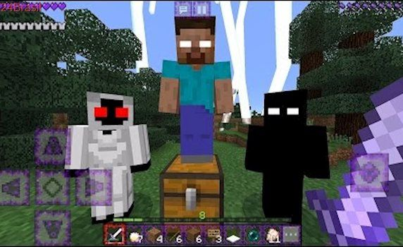 Herobrine and Entity303 MINECRAFT t Minecraft
