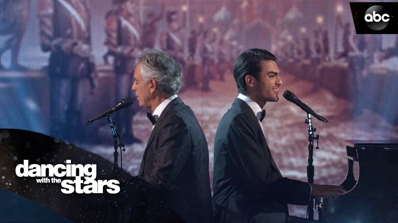 Andrea Bocelli Matteo Bocelli Performance Dancing With The