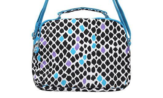 Get 60% #discount on Kipling Dalmatian Print Sling Bag