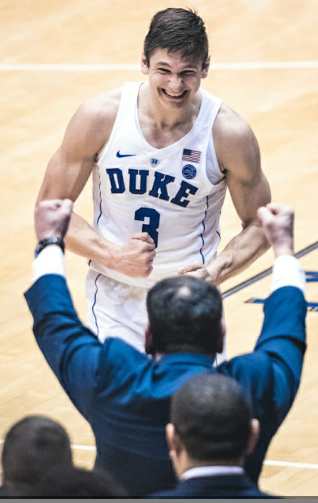 Last game in Cameron for Grayson Allen and a win over the