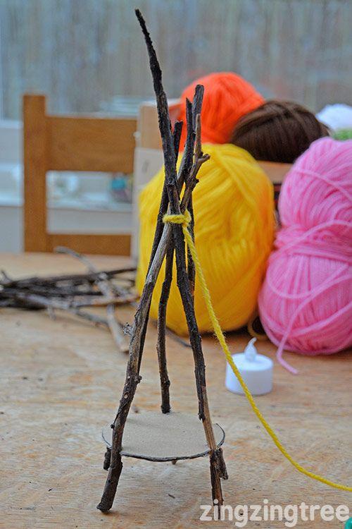 Photo of Yarn Craft Teepee