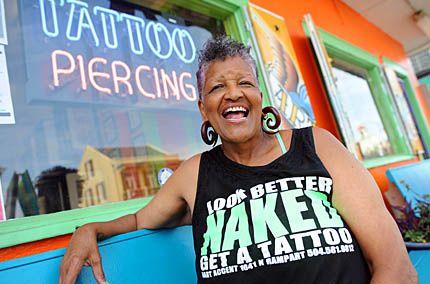 Meet Jacci Gresham One Of The First Black Women Tattoo Artists In
