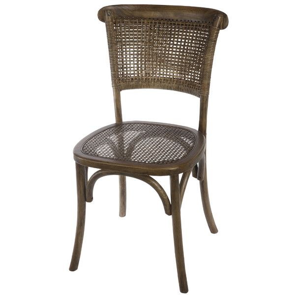 Mallory Rattan Side Chair Furniture Wicker Dining