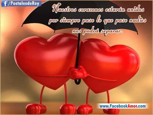 Imágenes Bonitas para Facebook Amor y Amistad: Postales con frases de amor