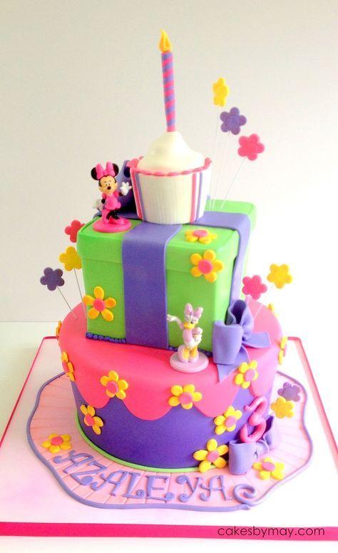 Minnie And Daisy Birthday Cake Orders Pinterest Birthdays