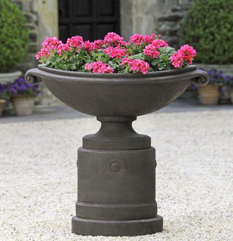 Wall Urn Planter | Medici Planter, Large, Medici, Planters, Urn